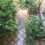 Courtyard of Riad Samsara.
