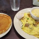 Create Your Own Omelet and Yogurt Pancake