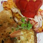 Chicken and Lobster Francese