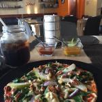 Deliciosa pizza individual. Muy recomendable para que vengan a Tapachula