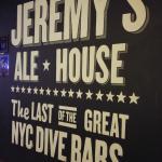 Jeremy's claim to fame.