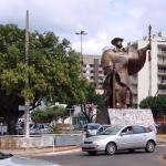 Monumento o Desbravador - Chapecó, Santa Catarina
