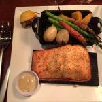 Thanksgiving Salmon Dinner