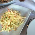 Apple, Cheese and Chive salad