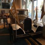 Rambling' Wreck in Hotel Lobby