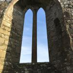 Fine lancet window of Rathfran Priory