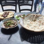 Karai lamb & seek kebab