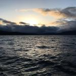 nice sunsets and a big lake
