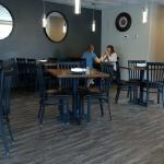 Inside the Cobblestone Cafe