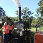 Mary Ann Steam Locomotive