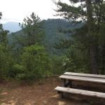 Trail views were fantastic