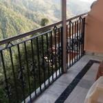 The Balcony atatched with Room giving good view of rhe valley