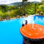 Toad Hall Hotel Arenal - View from Pool