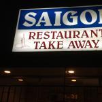 Rd Sign Saigon Restaurant
