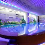 兆品酒店苗栗-品休閒中心-造型游泳池