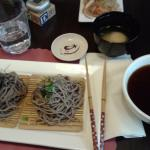 Zaru Soba with dipping sauce