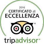 Certificato di Eccellenza 2016, secondo anno consecutivo!!