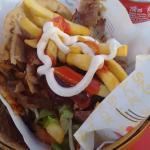 special menu: kebab + coke for 4,50€
