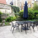 outside area for Garden Room occupants