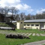 alte Mühlenteile und Eventhalle