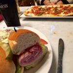Flatbread & Cold Cut Sandwich
