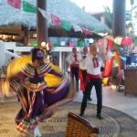 mexico night in the restuarant
