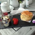 Cream tea at The Bridge