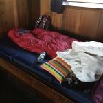 single platform bed