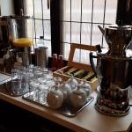 Die Tee-Bar.