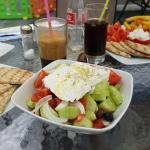 Greek salad - yummy!!!