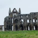 The Gothic style remians of Whitby Abbey
