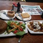 Panini and salads