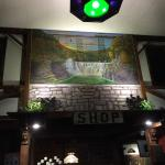 Examples of fabulous original local art adding to special historical atmosphere