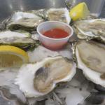 Wellfleet oysters at Captain Marden's.