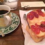 Tanzania Coffee, Toast and Jam