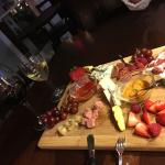 Great relaxing evening with friends for wonderful wine and charcuterie board.This is a lovely ol