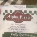 Foto de Alpha Pizza & Sub Shop