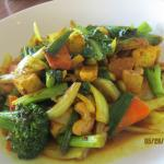 Pad Curry with Vegetables