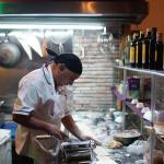 Marco Biondi, à la préparation traditionnelle de toutes les pâtes utilisées, ...