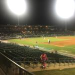 Great night for some AA baseball
