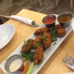 Meatless wings and vermicelli!