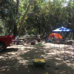 Camping at a great spot northeast of Escondido, CA.  Easy to get to and just off the road.
