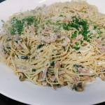 Platter of Spaghetti Carbonara