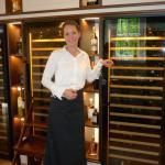 Restaurantleiterin und Sommeliere Carla Veenstra