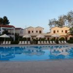 the hotel with the swimming pool