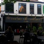 The Fat Cat Cafe Bar on a summers day