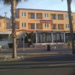 l'hotel coté plage