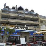 Photo de l'Hotel avec le restaurant le Corsaire