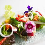 Menù a la carte: bouquet di frutta fiori e verdure