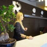 Front Desk Welcoming Staff